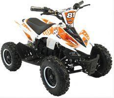Quad Luxe 800W Orange Xtrem