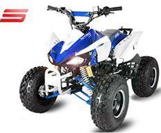 Quad Semi automatique Panthera 3G8 125cc Bleu