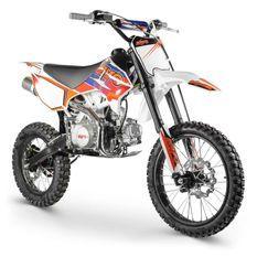 Racing 125cc bleu 17/14 pouces manuel Dirt bike Kayo