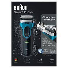 Rasoir Électrique - Braun Series 3 3040 Wet & Dry