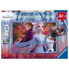 RAVENSBURGER - La Reine des Neiges 2 Puzzle 2x24 pieces
