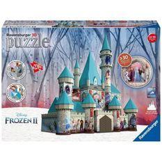 RAVENSBURGER - La Reine des Neiges 2 Puzzle 3D Château de la Reine des Neiges 216 pieces