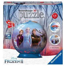 RAVENSBURGER - La Reine des Neiges 2 Puzzle 3D rond 72 pieces