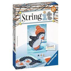 RAVENSBURGER - String It mini: Pingouin