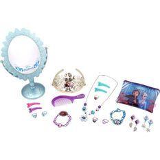 REINE DES NEIGES 2 - Coffret Bijoux et miroir sur pied