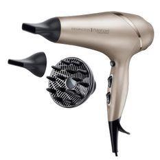 REMINGTON AC8605 Seche-Cheveux Professionnel Ionique Colour Protect 2300W, Soin Micromoléculaire Huile Karité et Filtres UV
