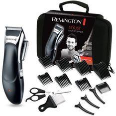 Remington HC363C Coffret Cheveux Tondeuse Lames Advanced Ceramic, Auto-Affûtées, Auto-Lubrifiées, Anti Irritations - 5pcs