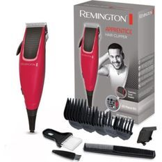 Remington HC5018 Coffret Tondeuse Cheveux Homme Apprentice, Lames Acier Inoxydable - 5pcs