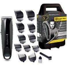Remington HC5880 Tondeuse Cheveux Indestructible, Anti-Choc, Lames Acier Japonais Auto-Affûtées, Batterie Dual Lithium