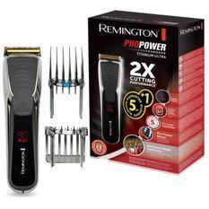 Remington HC7170 Tondeuse Cheveux ProPower Homme, Lames Titanium Anti Coupures, Anti Irritations
