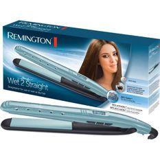 REMINGTON Lisseur sur cheveux mouillés Wet2Straight - Avec soin anti-frizz