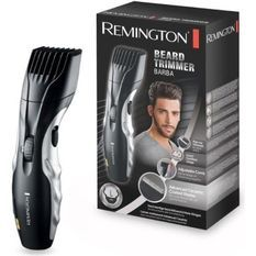 Remington MB320C Tondeuse Barbe en Céramique, 9 Hauteurs, Lames Auto Affûtées Auto Lubrifiées