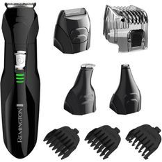 Remington PG6020 Tondeuse Multifonction Cheveux Barbe Visage, 4 Tetes Interchangeables, 4 Guides de Coupe, Résultat Professionnel