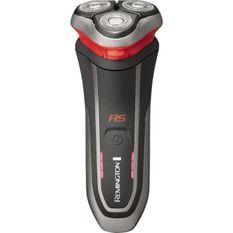 REMINGTON R5000 Rasoir Electrique Rotatif StyleSeries R5, Lames Flexibles, Antimicrobien, Batterie Lithium