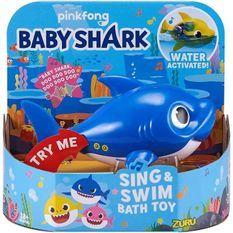 REQUINS - Jouet de bain Baby Shark bleu