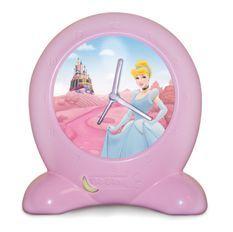 Reveil lumineux Princesse Go Glow Clock
