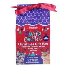 ROSEWOOD Boîte de Noël cadeau avec friandises - Pour chat - 100 g