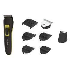 ROWENTA TN8940F1 Multistyle 8 en 1 Tondeuse homme barbe et cheveux, Avec ou sans fil, 8 accessoires, Coupe parfaite, Lame lavables