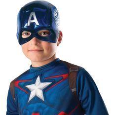 RUBIES Avengers-Masque Captain América