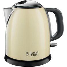 RUSSELL HOBBS 24994-70 - Bouilloire compacte Colours plus Creme intemporel 1 L