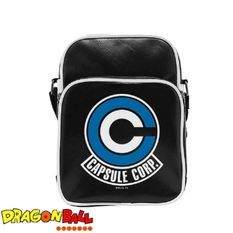 Sac Besace Dragon Ball Z - Caps Corp - Vinyle Petit Format - ABYstyle