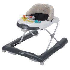 SAFETY 1ST Trotteur Bolid - a partir de 6 mois - Bébé mixte - Gris