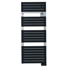 SAUTER Asama Radiateur Seche-serviettes électrique - 750 watts - LCD - Programmable - Barres plates - Anthracite