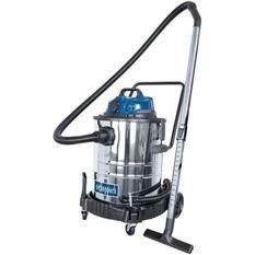 SCHEPPACH Aspirateur eau et poussiere 50L 1400W avec prise synchrone 200W + une brosse combinée, un suceur plat, un filtre mousse,