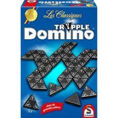 SCHMIDT AND SPIELE Jeu de société - Les Classiques - Tripple Domino - Classic line