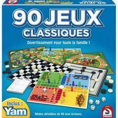 SCHMIDT Coffret de 90 Jeux Classiques