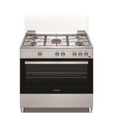 SCHNEIDER - SCCFG95X - Cuisiniere Full Gas 90cm - 5 foyers - Four 96L