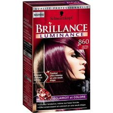 SCHWARZKOPF Coloration Permanente Brillance Luminance - Ultra Violet 860