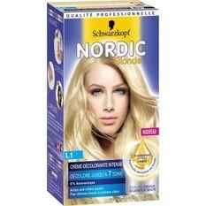 SCHWARZKOPF Coloration Permanente Nordic Creme Décolorante Intense L1 - Blonde