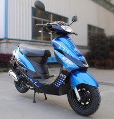 Scooter 50cc 4 temps Bleu