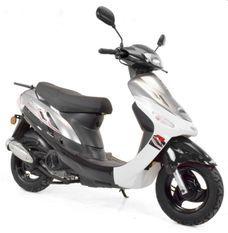 Scooter 50cc 4 temps Noir