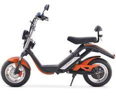 Scooter électrique Azur Ride50 Orange