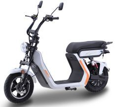 Scooter électrique Lycke Smart50 Blanc