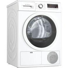 Seche-linge BOSH WTN85V07FF condensation pose-libre - SER4 - Capacité (kg): 7 - Classe énergie B - Blanc