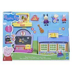 SEGWAY Peppa Pig - Peppa's Adventures - La salle de classe - Jouet pour enfant avec 3 figurines