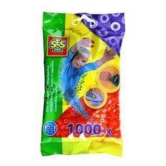 SES CREATIVE Lot de 1000 perles a repasser - Orange