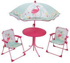 Set de jardin Flamingo