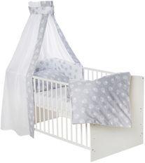 Set de lit gris et blanc Agneaux