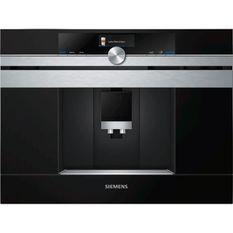SIEMENS CT636LES6 Machine a café iQ700 - Réservoir 2.4L - 1600W - Prépare 2 tasses simultanément - Inox