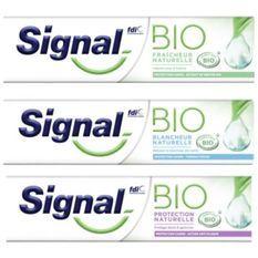 SIGNAL Dentifrice Bio Blancheur Naturelle - 75 ml