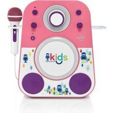 Singing Machine SMK250PP - Sing-Along System- The Mood Violet/rose