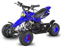 Sios de luxe 49cc bleu 4