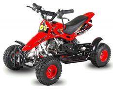 Sios de luxe 49cc rouge 4