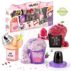 SLIME'GLAM DIY Kit de slime parfumée a créer soi-meme - SSC 089 - Lot de 3 shakers maquillage