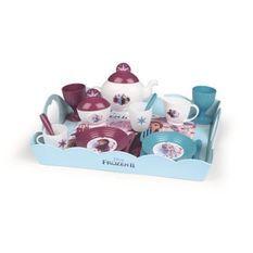 SMOBY La Reine des Neiges 2 Plateau Tea Time XL 17 Accessoires