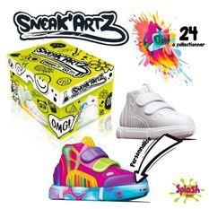 Sneak'Artz Shoebox - 1 Basket a customiser + accessoires - modele aléatoire
